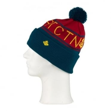 Beanie Folded Type Maroon - Red
