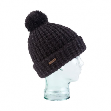 Beanie The Kate - Heather Black