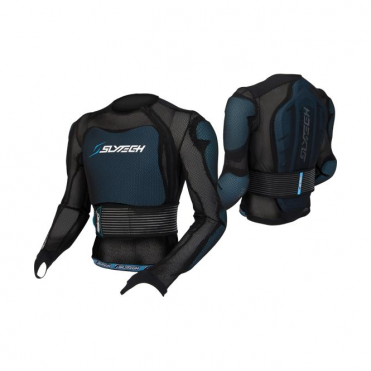 Slytech Multi Pro XT Jacket Body Protection - Black/Blue