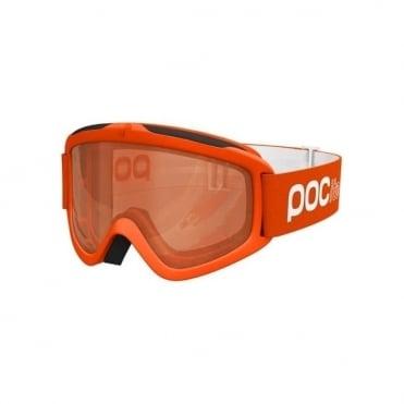 Junior Pocito Iris Goggles - Zink Orange with Sonar Orange Lens