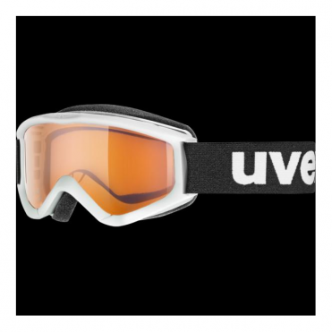 Junior Speedy Pro Goggles - White/Lasergold Lens