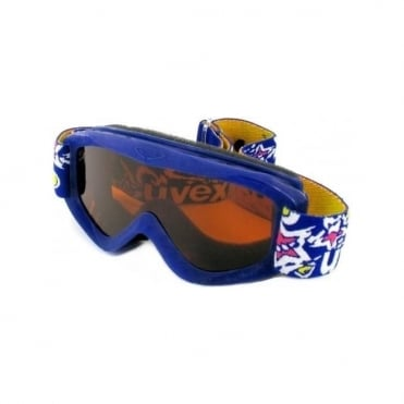Junior Snowy Goggles - Blue Navy