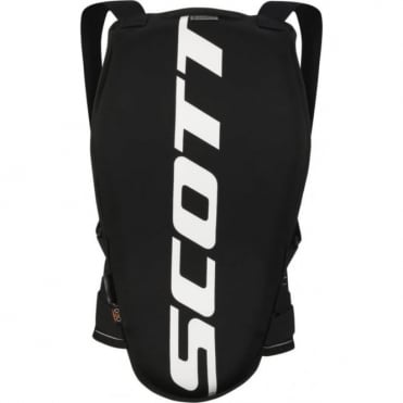 Junior Actifit Back Protector - Black/White