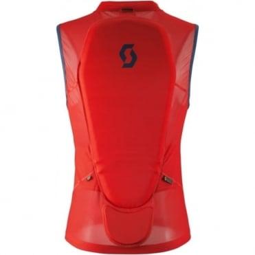 Scott Actifit Men's Light Vest Back Protector Burnt Red/Eclipse Blue