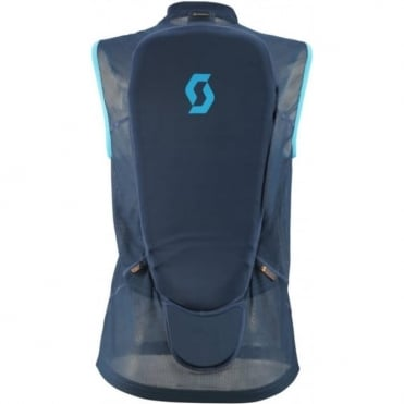 Wmns Actifit Light Vest Back Protector - Eclipse Blue/Bermuda Blue