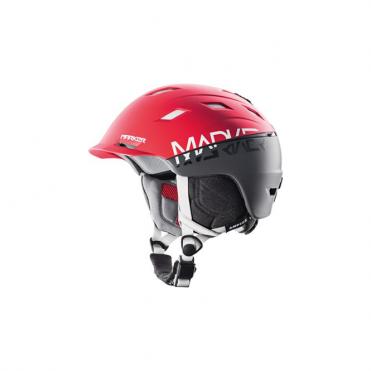 Ampire Helmet - Red/Grey