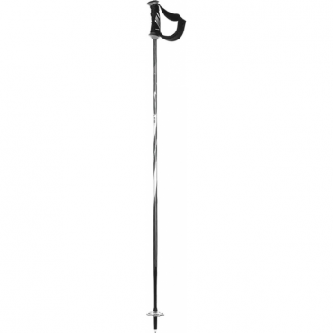 K2 Ski Pole Power 10 Airfoil Carbon Black