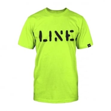 Mens Stencil Tee - Yellow