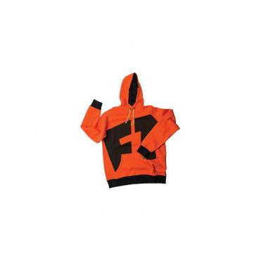 Mens Progression Pullover Hoodie - Orange