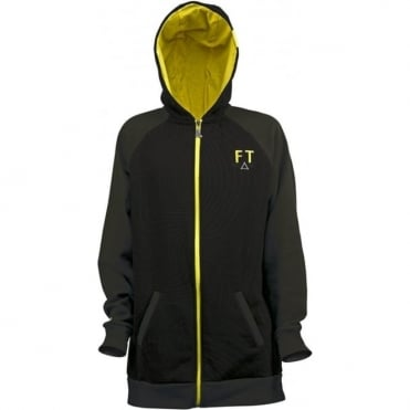 Mens Full Tilt Zip Hood - Black