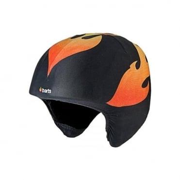 Kid's Helmet Cover - Flames