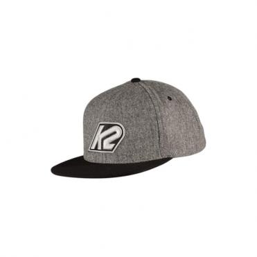 K2 Varsity Cap Grey