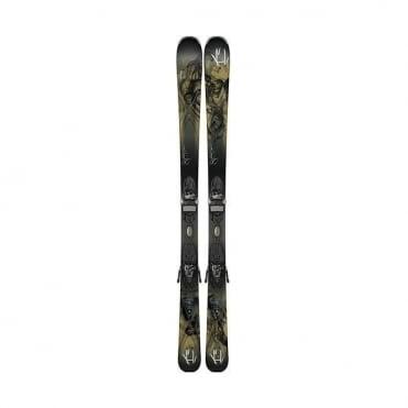 K2 Potion 80 Skis + ER3 TC Bindings - 153cm Womens (2015)