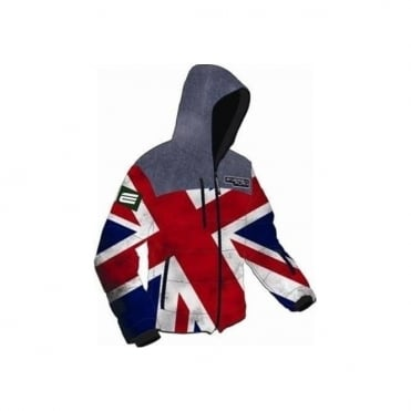 Adult Training Jacket GB Flag