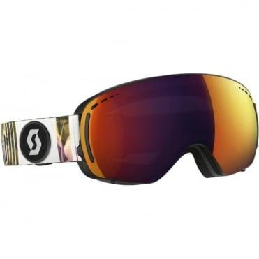 LCG Compact Goggles - Black/Pink with Solar Red Chrome Lens + Illuminator Blue Chrome Bonus Lens