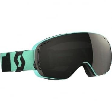 LCG Compact Goggles - Teal Green/Grey with Solar Black Chrome Lens + Illuminator Blue Chrome Bonus Lens