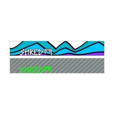Shred Spare Goggle Straps S-Duper + Bomb