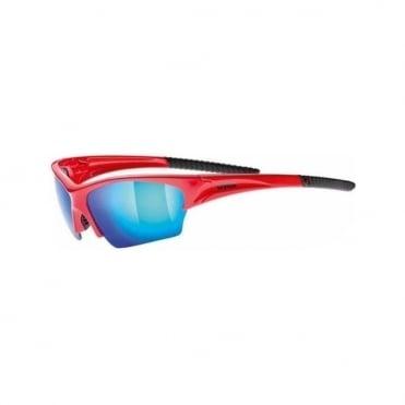 Uvex Sunglasses Sunsation Red/Blue