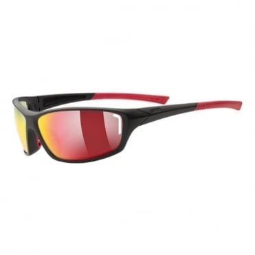 Sportstyle 210 Sunglasses - Black/Red