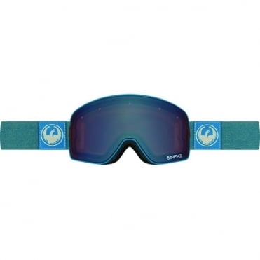 Nfx2 Goggles - Hone Blue/Optimized Flash Blue + Optimized Flash Green Bonus Lens