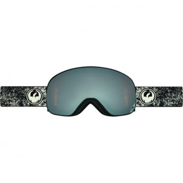 X2s Goggles - Energy White / Ionized + Yellow Blue Ion Bonus Lens