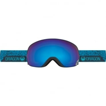 X2s Goggles - Stone Blue / Blue Steel + Yellow Red Ion Bonus Lens