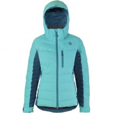 Wmns Terrain Down Jacket - Blue
