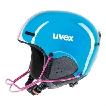 Junior Slalom Ski Race Helmet 5 - (Includes Chinguard)