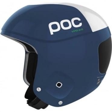 Skull Orbic Comp Helmet - Lead Blue FIS Approved
