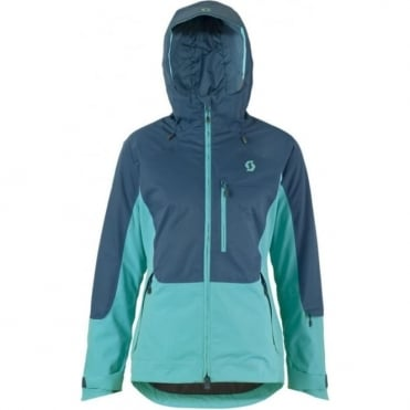 Wmns Ultimate Dryo Plus Tech Jacket - Eclipse Blue / Bermuda Blue