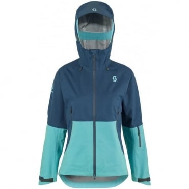 Wmns Explorair 3l Tech Jacket - Eclipse Blue / Bermuda Blue