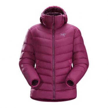 Womens Thorium Ar Hoody Tech Jacket - Purple