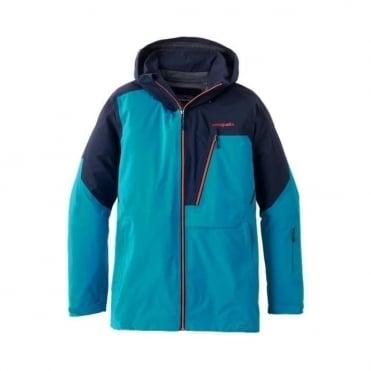 Mens Untracked Jacket - Grecian Blue