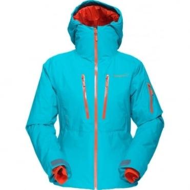 Wmns Lofoten Goretex Primaloft Jacket - Iceberg Blue