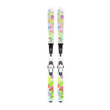 K2 Luv Bug Skis 124cm + Fastrak2 7 Binding Super Bargain Price!!