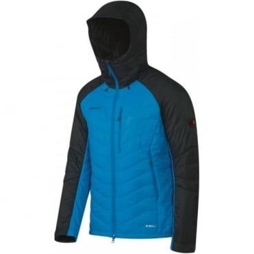 Mens Rime Pro IN Hooded Jacket - Black/ Blue