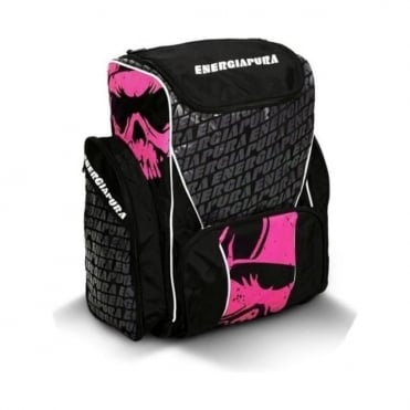 Ski Race Bootbag/Backpack 72L - Black/Pink