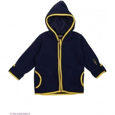 Junior Baby Fleece Hooded Jacket - Blue