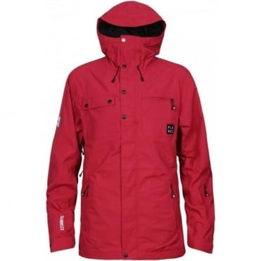 Men's Feel Good 2 Layer Jacket - Red