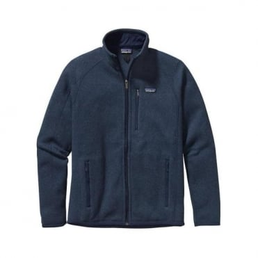 Mens Better Sweater Fleece Jacket - Classic Blue Navy