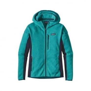 Wmns Performance Better Sweater Fleece Hoody - Epic Blue
