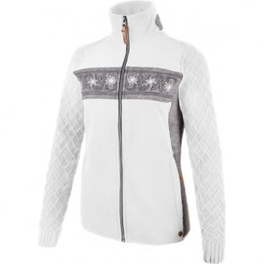 Campagnolo Fleece Full Zip Jacket - Edelweiss White