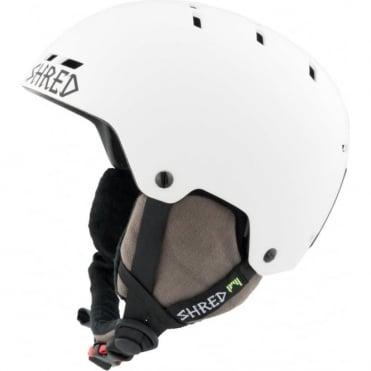 Shred Helmet Bumper No Shock Warm - Bleach White