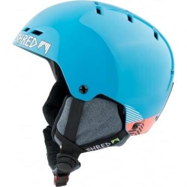 Shred Helmet Bumper No Shock Warm - Timber Blue Rust