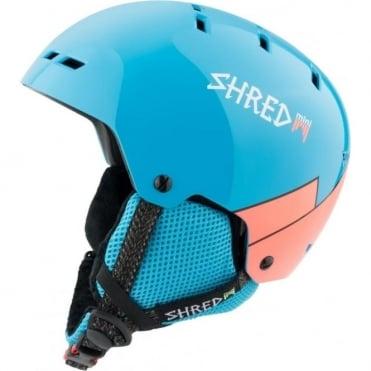 Shred Helmet Bumper Mini Warm Junior - Wee Blue Rust