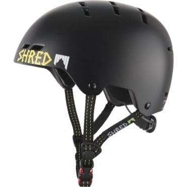 Shred Helmet Bumper Light - Walnuts Black