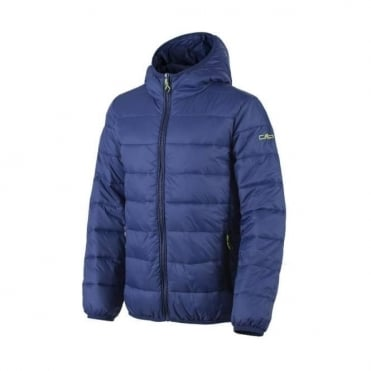 CMP Junior Boys Insulated Puffa Jacket - Nautico Blue