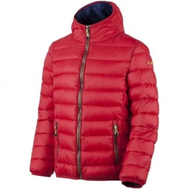 CMP Junior Boy Insulated Puffa Jacket - Ferrari Red
