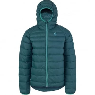 Men Insuloft Featherless Down Jacket - Blue Coral
