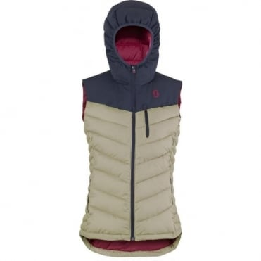 Wmns Insuloft Explorair Featherless Vest - Blue Nights / Sand Grey